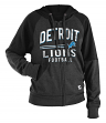 "Detroit Lions Women's New Era NFL ""TD Play"" Tri-Blend Hooded Sweatshirt"