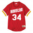 Hakeem Olajuwon Houston Rockets Mitchell & Ness NBA Men's Mesh Jersey Shirt