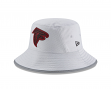 Atlanta Falcons New Era NFL 2018 Training Camp Sideline Bucket Hat - Gray