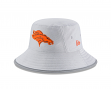 Denver Broncos New Era NFL 2018 Training Camp Sideline Bucket Hat - Gray
