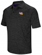 "LSU Tigers NCAA ""Down Swing"" Men's Performance Polo Shirt"