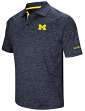"Michigan Wolverines NCAA ""Down Swing"" Men's Performance Polo Shirt"
