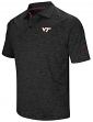 "Virginia Tech Hokies NCAA ""Down Swing"" Men's Performance Polo Shirt"