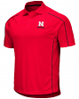 "Nebraska Cornhuskers NCAA ""Bunker"" Men's Performance Polo Shirt"