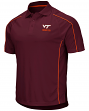 "Virginia Tech Hokies NCAA ""Bunker"" Men's Performance Polo Shirt"