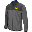 "Michigan Wolverines NCAA ""Gameplan"" Men's Full Zip Fleece Jacket"