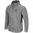 "Michigan State Spartans NCAA ""Swing Pass"" Men's Full Zip Hooded Jacket"