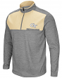 "Georgia Tech Yellowjackets NCAA ""Curl Route"" Men's 1/4 Zip Fleece Jacket"