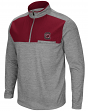 "South Carolina Gamecocks NCAA ""Curl Route"" Men's 1/4 Zip Fleece Jacket"