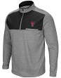 "Texas Tech Red Raiders NCAA ""Curl Route"" Men's 1/4 Zip Fleece Jacket"