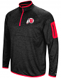 "Utah Utes NCAA ""Screen Pass"" Men's 1/4 Zip Poly Slub Jacket"