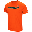 "Miami Hurricanes NCAA ""Water Boy"" Men's Dual Blend S/S T-Shirt"
