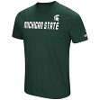 "Michigan State Spartans NCAA ""Water Boy"" Men's Dual Blend S/S T-Shirt"
