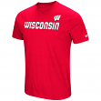 "Wisconsin Badgers NCAA ""Water Boy"" Men's Dual Blend S/S T-Shirt"