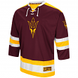 "Arizona State Sun Devils NCAA ""Ice Machine"" Men's Hockey Sweater Jersey"