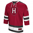 "Harvard Crimson NCAA ""Ice Machine"" Men's Hockey Sweater Jersey"