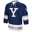 "Yale Bulldogs NCAA ""Ice Machine"" Men's Hockey Sweater Jersey"