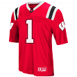 "Wisconsin Badgers NCAA ""Double Reverse Play "" Men's Football Jersey"