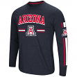 "Arizona Wildcats NCAA ""Touchdown"" Men's Dual Blend Long Sleeve T-Shirt"