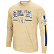"Georgia Tech Yellowjackets NCAA ""Touchdown"" Men's Dual Blend Long Sleeve T-Shirt"