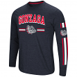 "Gonzaga Zags NCAA ""Touchdown"" Men's Dual Blend Long Sleeve T-Shirt"