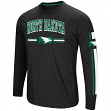 "North Dakota Fighting Hawks NCAA ""Touchdown"" Men's Dual Blend L/S T-Shirt"