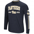 "Pittsburgh Panthers NCAA ""Touchdown"" Men's Dual Blend Long Sleeve T-Shirt"