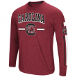 "South Carolina Gamecocks NCAA ""Touchdown"" Men's Dual Blend Long Sleeve T-Shirt"