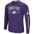 "TCU Horned Frogs NCAA ""Touchdown"" Men's Dual Blend Long Sleeve T-Shirt"