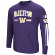 "Washington Huskies NCAA ""Touchdown"" Men's Dual Blend Long Sleeve T-Shirt"