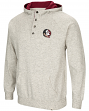 "Florida State Seminoles Men's NCAA ""Whoop It Up"" Hooded Henley Sweatshirt"