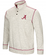 "Alabama Crimson Tide Men's NCAA ""Bowl Game"" 1/2 Button Up Henley Sweatshirt"