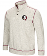 "Florida State Seminoles Men's NCAA ""Bowl Game"" 1/2 Button Up Henley Sweatshirt"