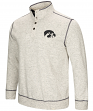 "Iowa Hawkeyes Men's NCAA ""Bowl Game"" 1/2 Button Up Henley Sweatshirt"