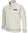 "LSU Tigers Men's NCAA ""Bowl Game"" 1/2 Button Up Henley Sweatshirt"