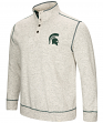 "Michigan State Spartans Men's NCAA ""Bowl Game"" 1/2 Button Up Henley Sweatshirt"