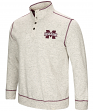 Mississippi State Bulldogs Men's NCAA Bowl Game 1/2 Button Up Henley Sweatshirt