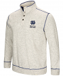 "Notre Dame Fighting Irish Men's NCAA ""Bowl Game"" 1/2 Button Up Henley Sweatshirt"