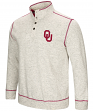 "Oklahoma Sooners Men's NCAA ""Bowl Game"" 1/2 Button Up Henley Sweatshirt"