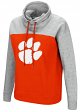 "Clemson Tigers Women's NCAA ""Talk the Talk"" Funnel Neck Sweatshirt"