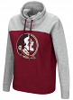 "Florida State Seminoles Women's NCAA ""Talk the Talk"" Funnel Neck Sweatshirt"