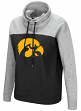 "Iowa Hawkeyes Women's NCAA ""Talk the Talk"" Funnel Neck Sweatshirt"