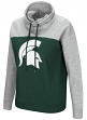 "Michigan State Spartans Women's NCAA ""Talk the Talk"" Funnel Neck Sweatshirt"