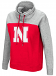 "Nebraska Cornhuskers Women's NCAA ""Talk the Talk"" Funnel Neck Sweatshirt"