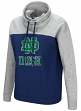 "Notre Dame Fighting Irish Women's NCAA ""Talk the Talk"" Funnel Neck Sweatshirt"