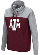 "Texas A&M Aggies Women's NCAA ""Talk the Talk"" Funnel Neck Sweatshirt"