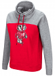 "Wisconsin Badgers Women's NCAA ""Talk the Talk"" Funnel Neck Sweatshirt"