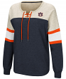 "Auburn Tigers Women's NCAA ""Greatness"" Oversized Lace Up Sweatshirt"