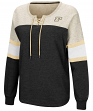 "Purdue Boilermakers Women's NCAA ""Greatness"" Oversized Lace Up Sweatshirt"