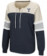 "Yale Bulldogs Women's NCAA ""Greatness"" Oversized Lace Up Sweatshirt"